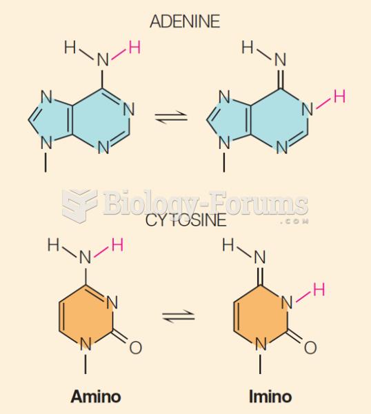 adenine and cytosine