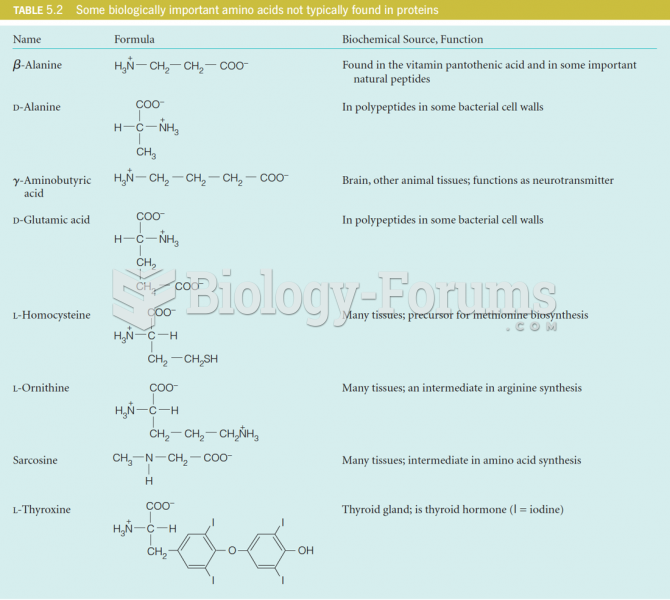 Amino acids not found in proteins