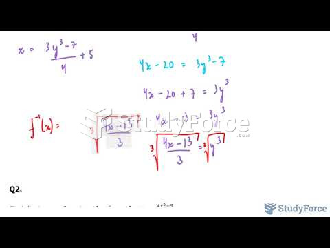 How to find the inverse of any function (Part 2)