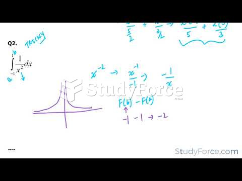 How to find the definite integral using the fundamental theorem of calculus (Part 3)