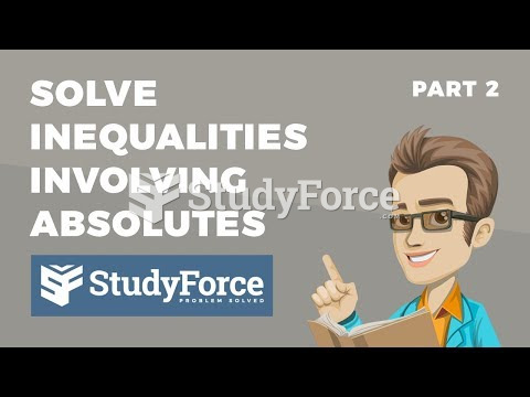 How to solve inequalities involving absolute values (Part 2)