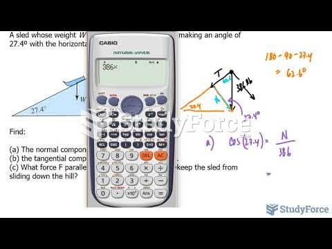 How to find the tangential and normal components of a vector