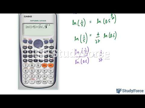How to solve a half life problem involving exponential models (Question 1)
