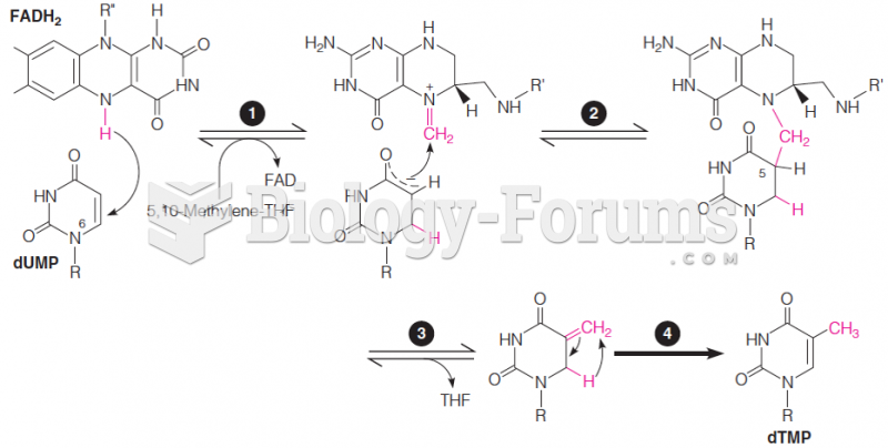 Proposed mechanism for the reaction catalyzed by flavin-dependent thymidylate synthase