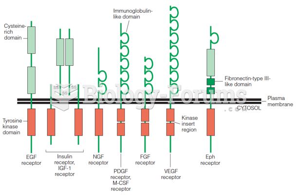 The insulin receptor and its structural relationship to other transmembrane receptors with protein