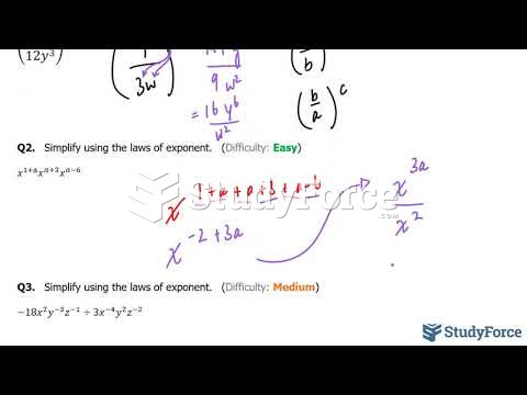 How to use the laws of exponents to simplify an expression (Part 2)
