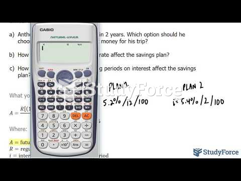 How to choose the right payment plan with changing conditions (Question 1)