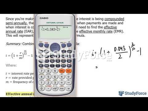 How to calculate monthly payments at varying amortization periods (Question 2)