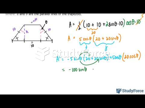 How to solve optimization problems in calculus (Question 7)