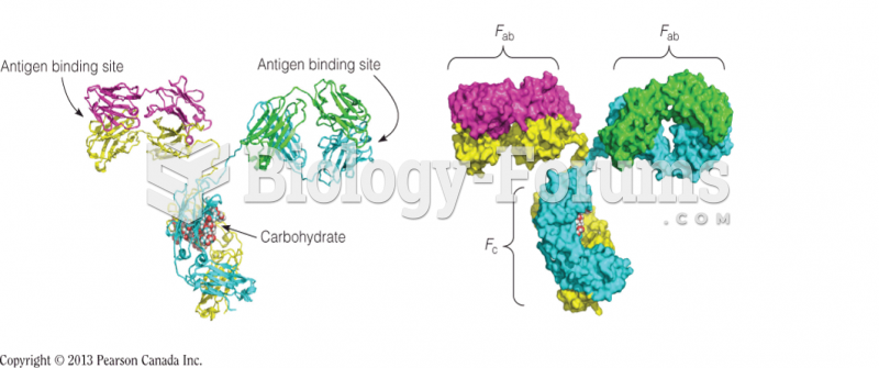 The crystal structure of an IgG molecule from mouse