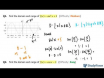 How to find the domain and range of the trigonometric function, sine, cosine, and tangent