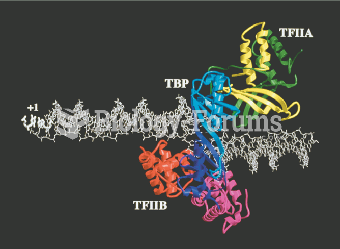 Computationally assembled model of the TFIIA–TBP–TFIIB–promoter complex based on crystal