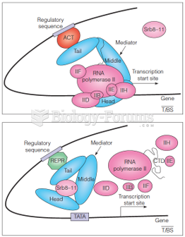 Mediator as a bridge between gene-specific regulatory factors and the general transcription