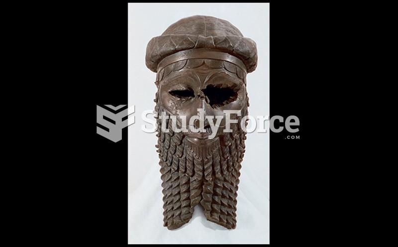 Head of A Man (Known As An Akkadian Ruler)
