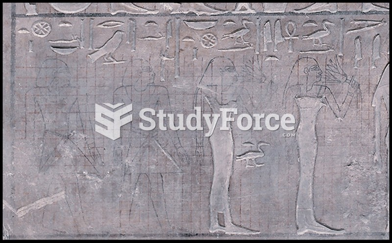 Conventions and Techniques of Egyptian Pictorial Relief
