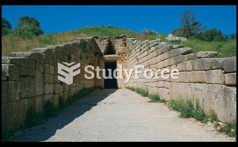 Exterior View of Tholos, The So-called Treasury of Atreus
