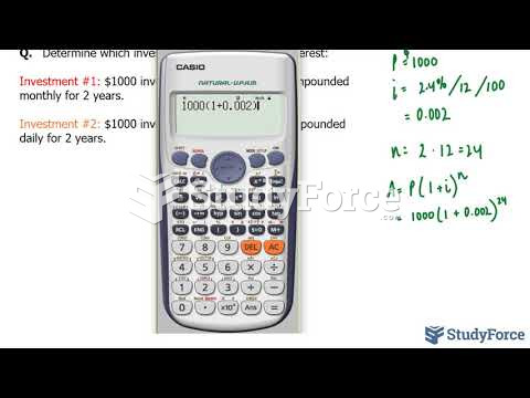 How to calculate compound interest (Part 2)