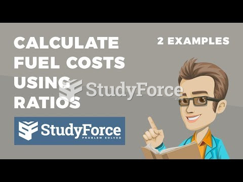 How to calculate fuel costs