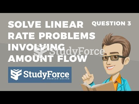 How to solve rate problems leading to fractional equations (Question 3)