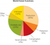 Forest products and the economic value