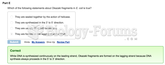 Mastering Biology Question