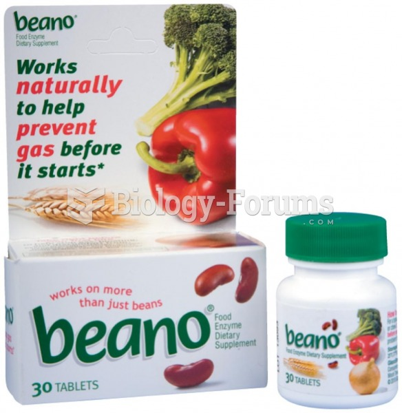 Products like Beano contain enzymes that help reduce the production of gas in the large intestine
