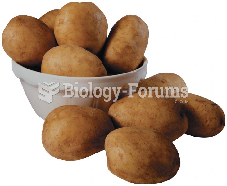 Potatoes are a good source of complex carbohydrates