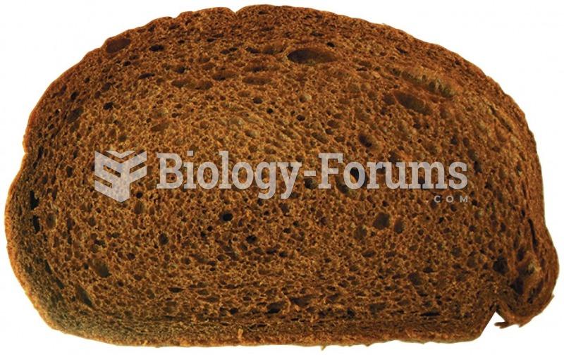 Dark bread is not necessarily whole-grain bread