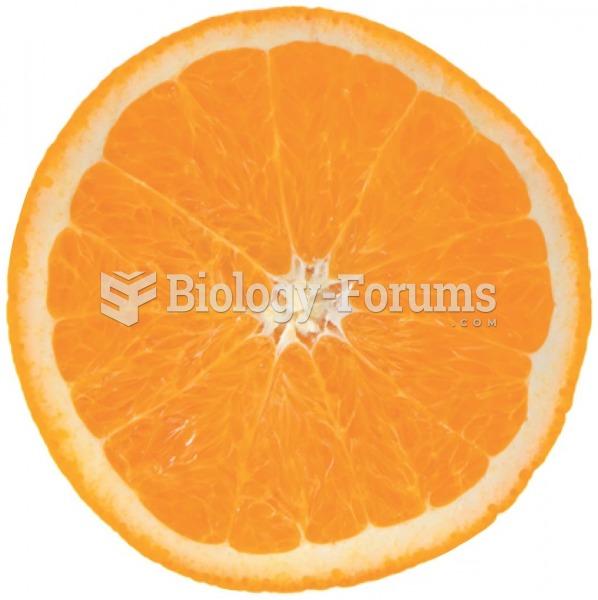 An orange has four times the fiber of six ounces of orange juice