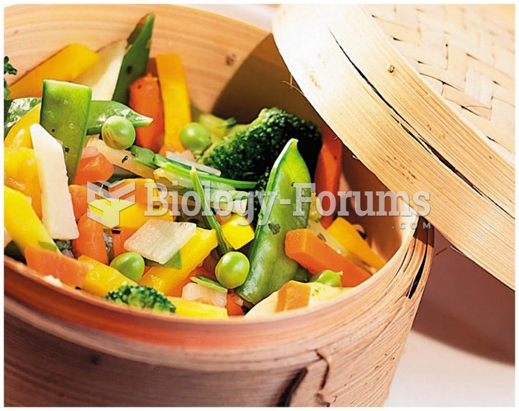 Preserve Your Vitamins! Cook your vegetables in a small amount of water