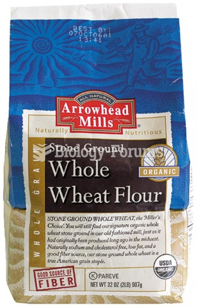 Store vitamin B–rich whole-wheat flour in an airtight container in your refrigerator or freezer
