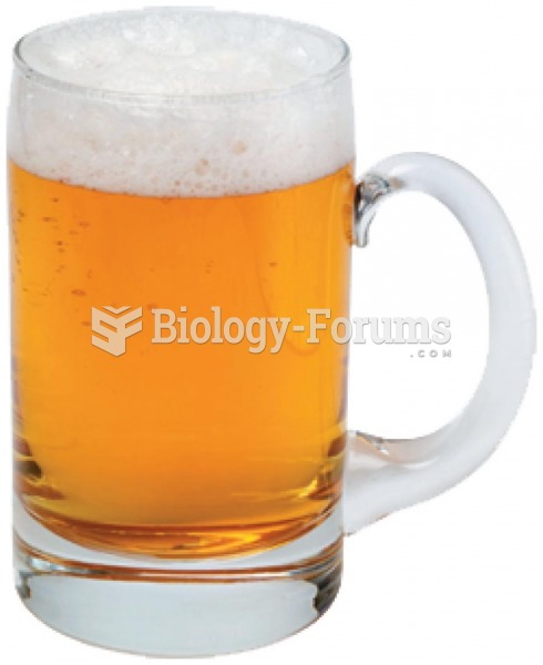 Light beer has about the same amount of alcohol as regular beer