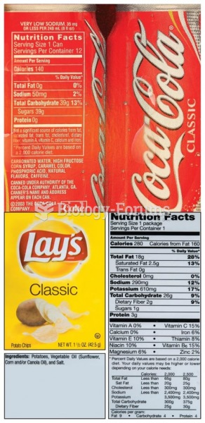 "Do you know how many calories are in your chips-and-soda ""study snack""?"
