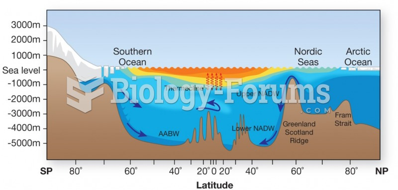 Different bodies of water have contrasting physical properties