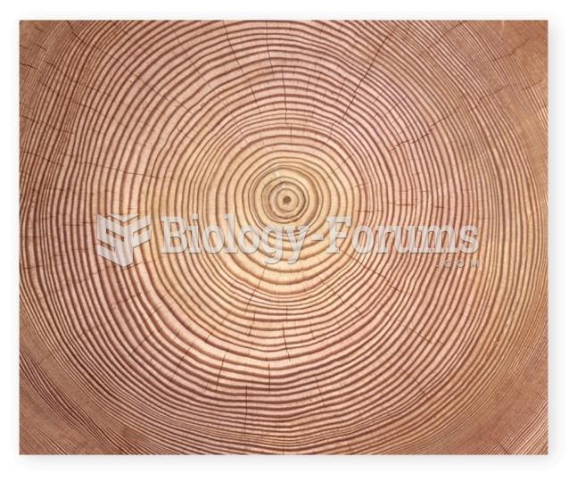 Tree rings as indicators of environmental change