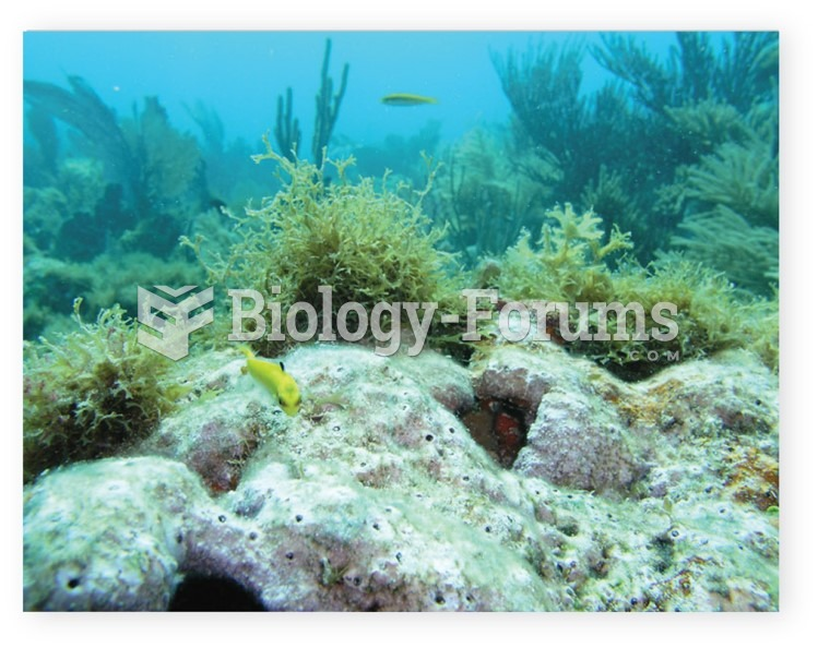 Increased acidity inhibits the growth of coral and other carbonate shell-building organisms