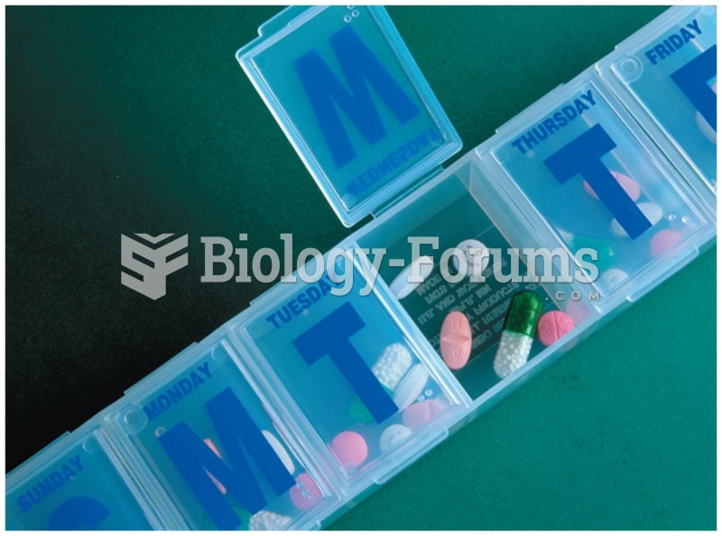 Daily pill containers like this one are often used by the elderly to remind them