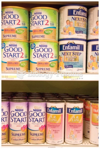Infant formula is available in several forms and varies in cost and ingredients