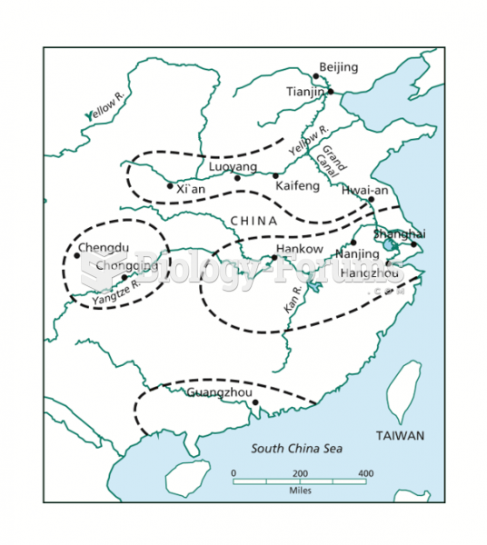 Core Areas in Preindustrial China