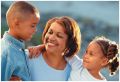 Tia, an African-American mother of two school-aged children