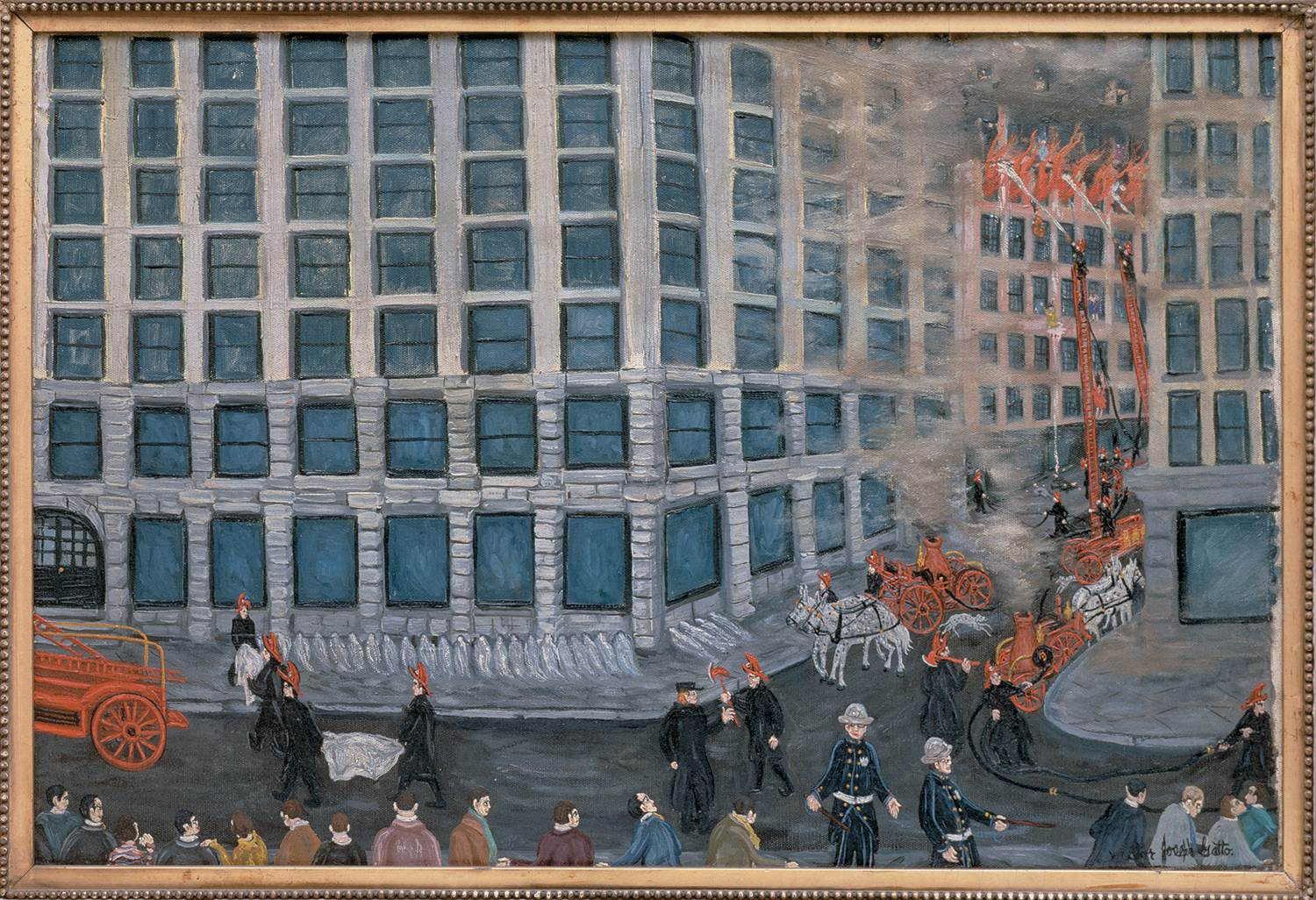 essay on triangle fire On march 25, 1911, a fire in an overcrowded manhattan sweatshop caused the  deaths of 146 people, mostly young immigrant women from.