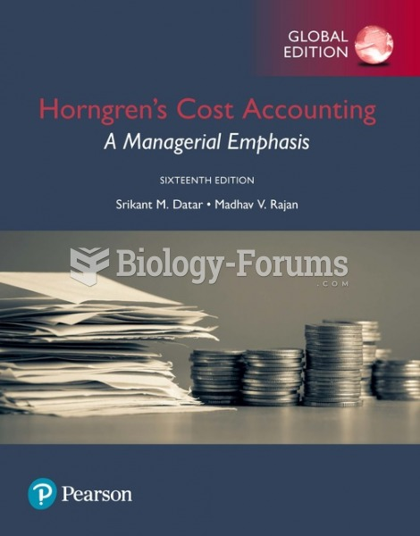 Cost Accounting: A Managerial Emphasis 16th Edition