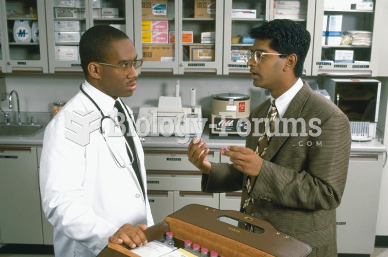 Pharmaceutical Company Representatives
