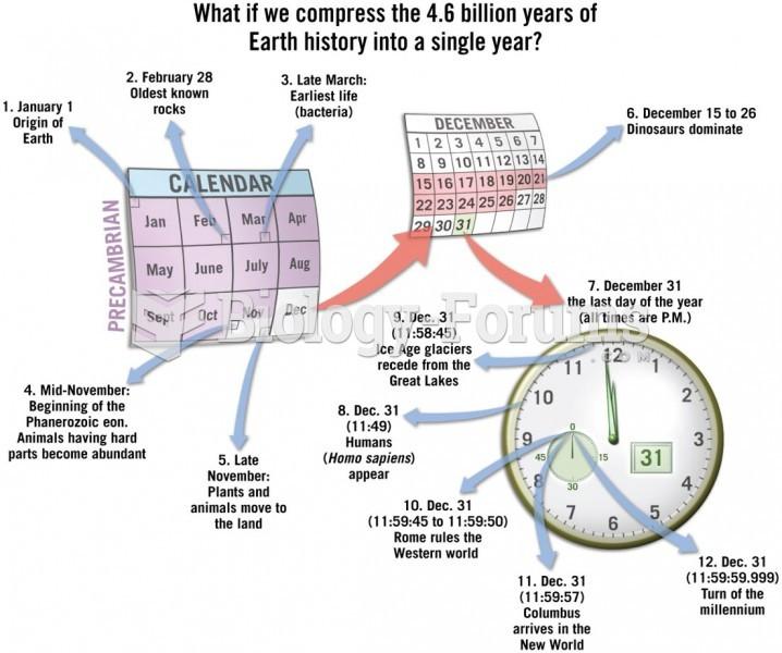 Magnitude of Geologic Time