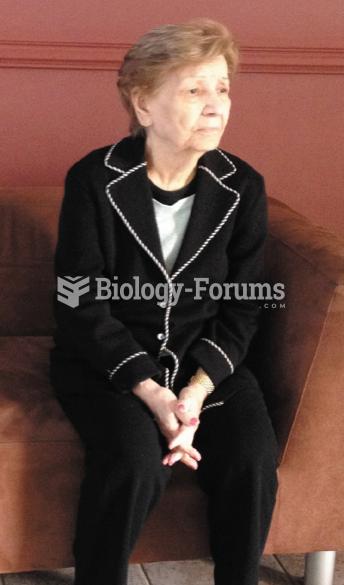An Elderly Woman with Alzheimer's Disease