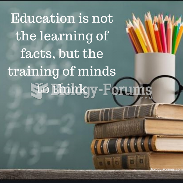 Education is not the learning of facts, but the training of minds to think