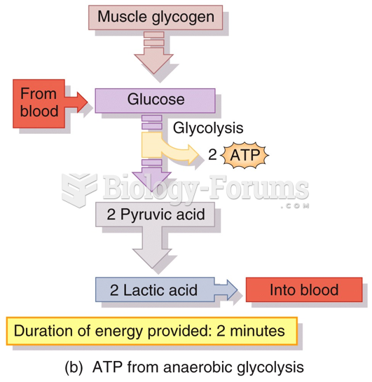 Production of ATP in Skeletal Muscle