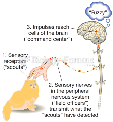 The General Process of Sensation