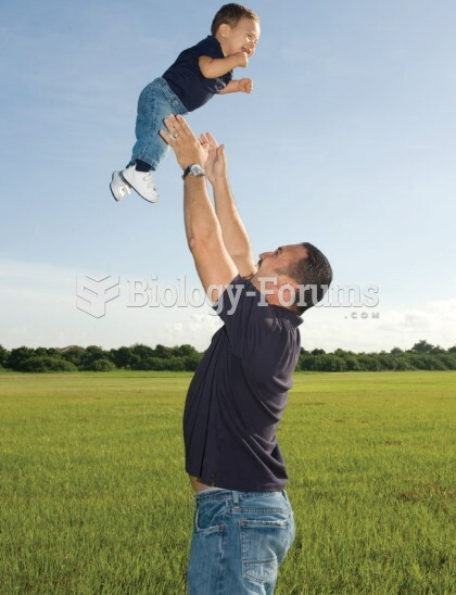 Fathers engage in physical play with infants more often than mothers do