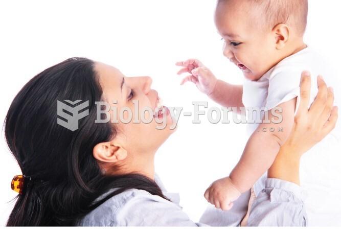 Newborns recognize their mother's voice